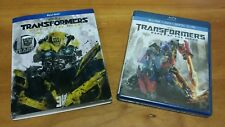 Transformers: Dark of the Moon (Blu-ray & DVD, 2011) 3 Michael Bay movie NEW