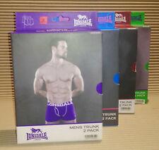 Lonsdale 8 Coppie Di Da Uomo Biancheria Intima Tutti Taglia Small fuori produzione stock pantaloni da uomo