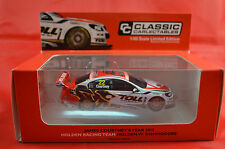 1/43 #22 JAMES COURTNEY YEAR 2013 HOLDEN RACING TEAM TOLL HOLDEN VF COMMODORE