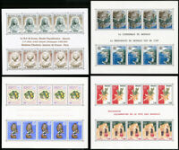 Monaco Pristine Mint NH 1970s to 1980s Vintage Stamp Collection
