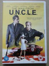 The Man from U.N.C.L.E. DVD (2015) Henry Cavill, Ritchie (DIR) cert 12