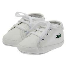 Fashion Newborn Baby Boy Girl White Soft Sole Pram Shoes Trainers 0-18 Months