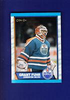 Grant Fuhr HOF 1989-90 O-PEE-CHEE OPC Hockey #192 (NM+) Edmonton Oilers
