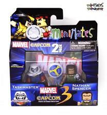Marvel vs Capcom 3 Minimates TRU Toys R Us Wave 2 Taskmaster & Nathan Spencer