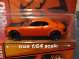 AW AUTO WORLD 2021 M&J TOYS MIJO EXCLUSIVE, '19 DODGE CHALLENGER SRT HELLCAT