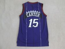 NBA RAPTORS Retro #15 CARTER 'VANSANITY' Stitch Purple Jersey Men M NEW^