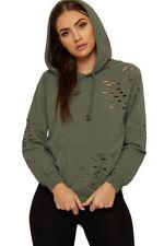Damen-Pullover & -Strickware mit Kapuze aus Baumwolle in Größe 38