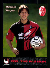 Michael Wagner Autogrammkarte SC Freiburg 1996-97 Original Signiert  +87328