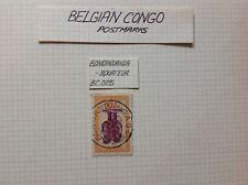 BELGIAN CONGO, STAMPS/postmarks, 1920, BONGANDANGA