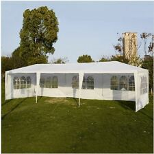 10'x30' Party Wedding Outdoor Patio Tent Canopy Heavy duty Gazebo white Event