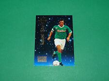 LAURENT BLANC FOOTBALL CARD PREMIUM 1994-1995 AS SAINT-ETIENNE ASSE VERTS PANINI