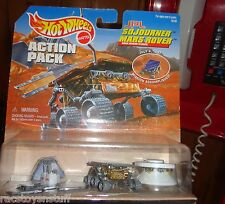 HOT WHEELS MARS ROVER MISSION ACCOMPLISHED VERSION, NEVER OPENED