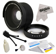 0.35x HD² Wide Angle Fisheye Panoramic Macro Lens for Canon EF 50mm f/1.4 USM