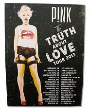 """PINK P!NK """"VINTAGE SCREAM"""" TRUTH ABOUT LOVE TOUR WALL POSTER LITHO NEW OFFICIAL"""