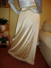 Liquid Gold Silky & Lace  Formal Length Half Slip Petticoat M--XXL  BNWT
