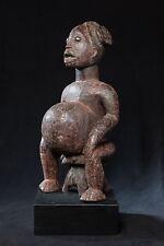 Babanki Seated Ancestor Figure, Cameroon, African Tribal Art.