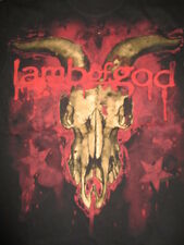 2008 American Groove Metal Band LAMB OF GOD (SM) T-Shirt Randy Blythe