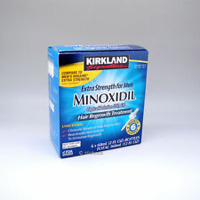 Kirkland Minoxidil 5% Extra Strength Men 6 Month Supply Hair Regrowth Exp01/2019