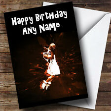 Basketball Slam Dunk Personalised Birthday Greetings Card
