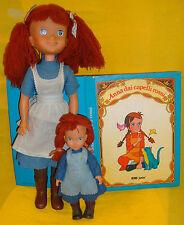 ANNA CAPELLI ROSSI ANNE GREEN GABLES BAMBOLA FURGA 24/36 FIGURE doll LIBRO BOOK