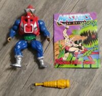 Mekaneck COMPLETE Vintage He-Man HEMAN Masters of the Universe MOTU 1983 Comic