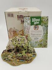 Lilliput Lane Cottages Limited 1990 Sculpture Forget-Me-Not Exclusive Cert Iob