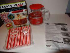 Sharper Image Microwave Popcorn Popper 6 Paper Popcorn Bags