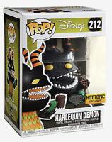 Funko Pop! #212 Disney Harlequin Demon Diamond Collection Hot Topic Exclusive