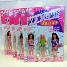 NEW 1997 Barbie Fashion Designer Refill Kit - SEALED