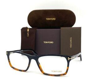 Tom Ford FT5295 056 Shiny Black Havana  / Demo Lenses  56mm Eyeglasses TF5295
