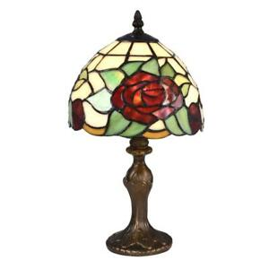 Dale Tiffany Indian Rose Accent Lamp Antique Bronze - STT16088