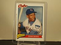2020 Topps X Super 70s Sports Base #8 ERNIE BANKS Chicago Cubs