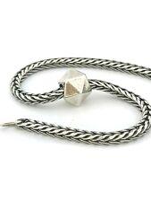 Authentic Trollbeads Water Troll bead 11352 Aqua Element Sterling Silver 925