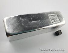 Mehr als 10 kg hochreines Indium 99,995% - 10 Barren mit mehr als 1 kg Gewicht