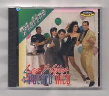 LOS HIJOS DE PUERTO RICO - Platino CD rare 1994 SEALED Latin