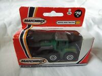 MATCHBOX MADE IN CHINA SHOVEL-NOSE TRACTOR