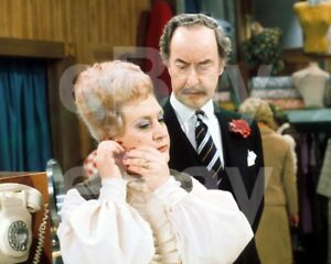 Are You Being Served (TV) Mollie Sugden, Frank Thornton   10x8 Photo