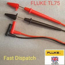 Fluke TL75 Hard Point Meter Test Leads For Multimeter/clamp CATIII 1000V 10A