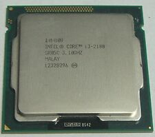 CPU Intel Core i3-2100 @ 3,10Ghz Prozessor SR05C Socket 1155 / H2 / LGA1155