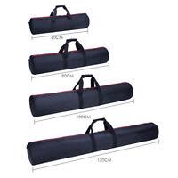 65/80/100/120cm  Padded Strap Camera Tripod Carry Bag Travel Case Black