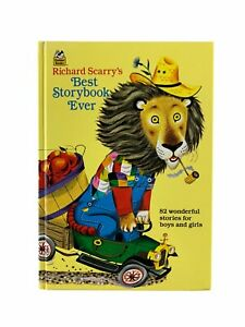 Richard Scarry's Best Story Book Ever 82 Wonderful Stories A Golden Book 1995