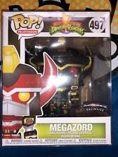 Funko Pop Megazord black and gold exclusive Mighty Morphin Power Rangers In Hand