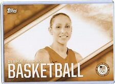2016 Topps Olympic Gold 5X7 Jumbo Size #OD-1 Diana Taurasi!!! 03/10!! Basketball