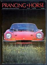 Ferrari Club America, Prancing Horse Magazine #  66 Jun 1982 FCA