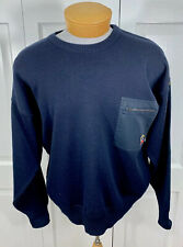 Paul & Shark Yachting Sweater Pullover Wool Vintage Men's Sz Large, L Made Italy
