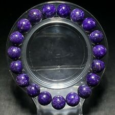 10.1mm Top Quality Natural Purple Charoite Crystal Gemstone Beads Bracelet