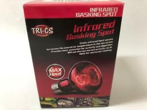 10 X 50W REPTILE LIZARD SNAKE  INFRARED BASKING  HEAT LAMP LIGHT RED EDDISON