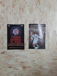 2010 Chicago Fire MLS (Best Buy) Spanish pocket schedule