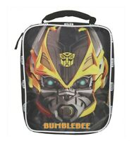 Transformers Bumblebee Optimus Prime Lunch Tote Bag Box, NWT,   0011
