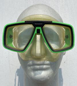 Aqua Lung US Divers Look Diving Mask Scuba Diver Technisub Tempered - Green